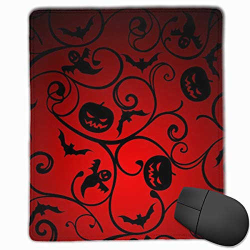 Mouse Pad Halloween Pattern Wallpaper Background Personalized Mouse Pad Non-Slip Mouse Mat Gaming Mouse Pad ()