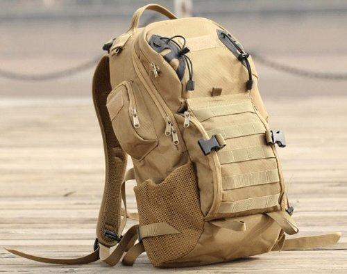 borse alpinismo esterno zaino da campeggio (Colore: Khaki)