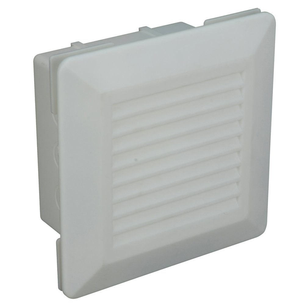 LSP OBAV-200 Outlet Box Durgo Plastic Louver Faceplate