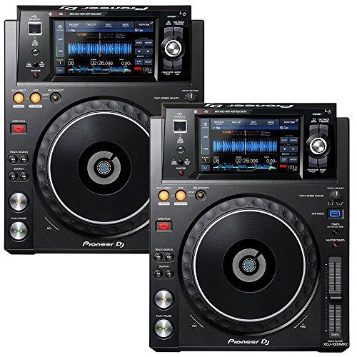 (Pioneer DJ 2x XDJ-1000MK2 Bundle)
