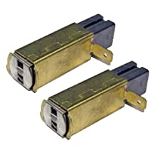 Ryobi RE180PL2 / RE180PL1 / RE180PL / R175 Router (2 Pack) Replacement Carbon Brush & Spring # 290069048-2pk