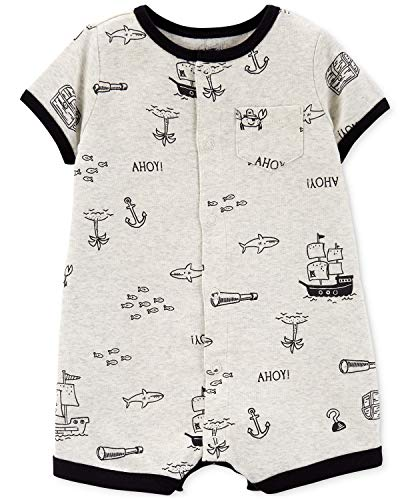 Carter's Baby Boys Snap-Up Romper (Pirate Crab, 24 Months)