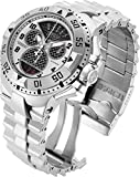 Invicta Men's 'Excursion' Swiss Quartz Stainless Steel Casual Watch, Color:Silver-Toned (Model: 17468)