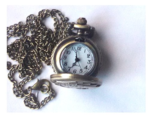 Ladies Royal Flash Pendent Watch and Chain Set