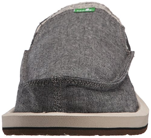 Sanuk Tongs Pocket Homme Tx Bcmb Gris Pick black Chambray rRR7n4