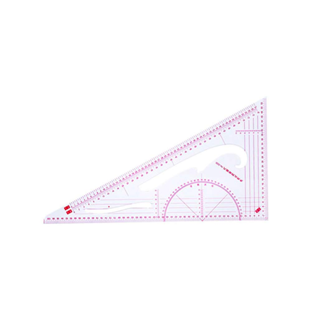 Fanct 9Pcs French Curve Ruler Set Muti Function Measure Dressmaking Sewing Drawing Template Tool DIY Craft