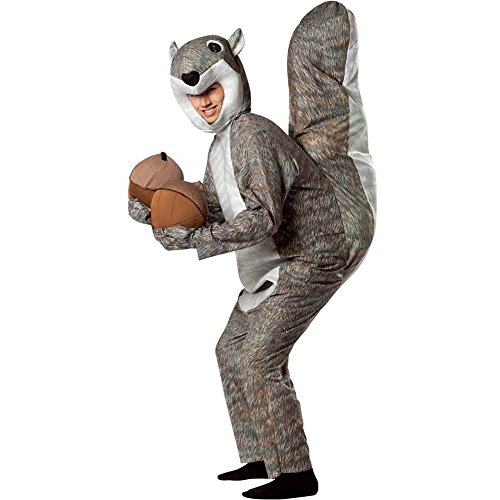 Squirrel Costume - One Size - Chest Size 48-52 -