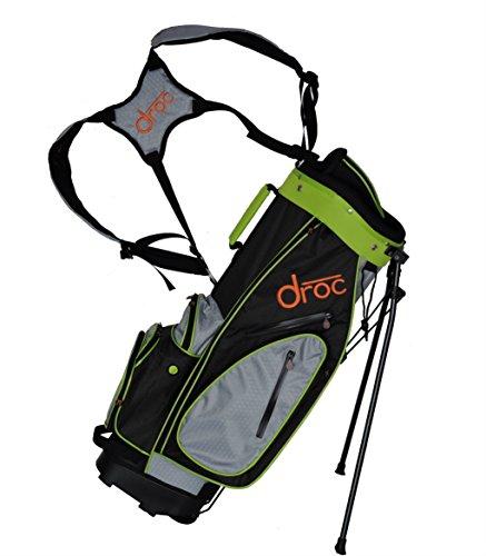 droc - Dimond Golf Bag Ages 11-14 (Gray_Lime 32