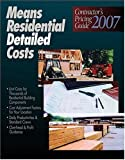 Means Residential Detailed Costs, , 0876298722