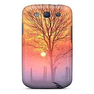 Faddish Phone Sunset And Mist Case For Galaxy S3 / Perfect Case Cover