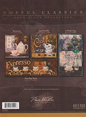Coffee Classics Mckenna Ryan Pine Needles 4 Pattern Set