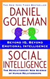 Book cover for Social Intelligence: The New Science of Human Relationships