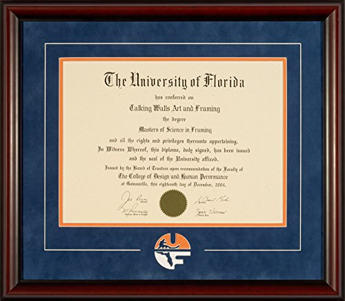 University of Florida Classic Logo Diploma Frame by Talking Walls