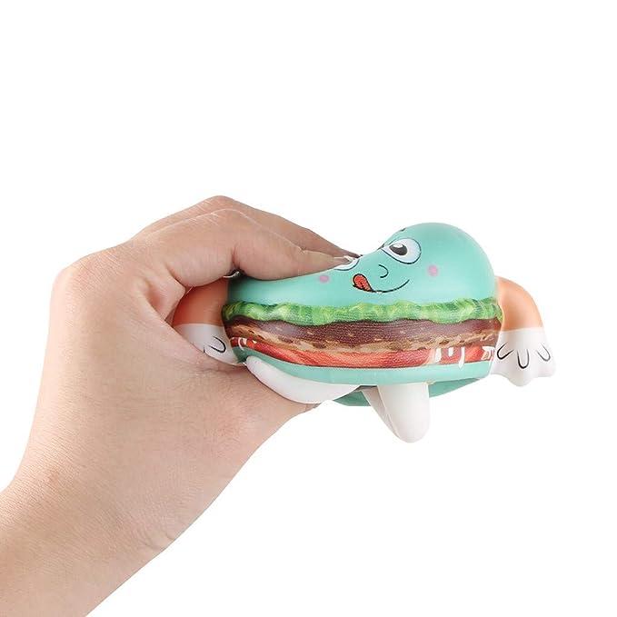 Amazon.com: Fangoog Juguetes de muñeca de hamburguesa de ...