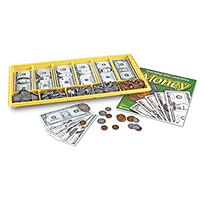 Learning Resources Giant Classroom Money Kit: Toys & Games