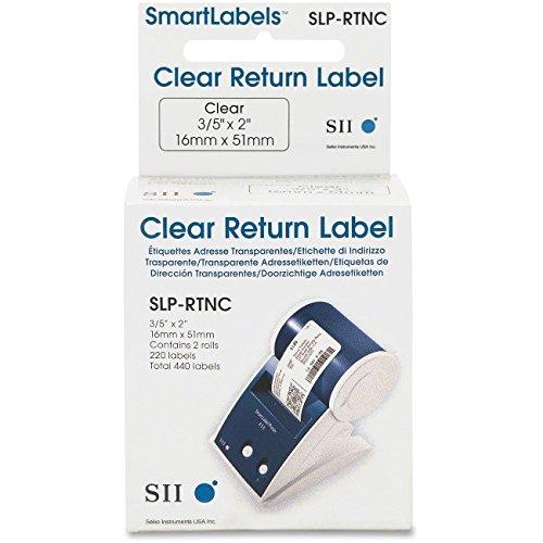 Seiko Smart Label Return Address Clear