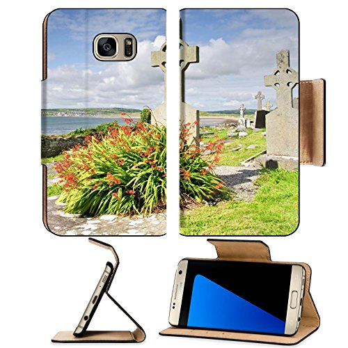 Liili Premium Samsung Galaxy S7 EDGE Flip Pu Leather Wallet Case photo ancient celtic burial grave site west coast ireland Photo 7570088 Simple Snap - Site Ireland