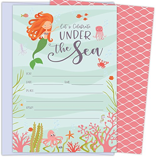 fish birthday invitations - 7