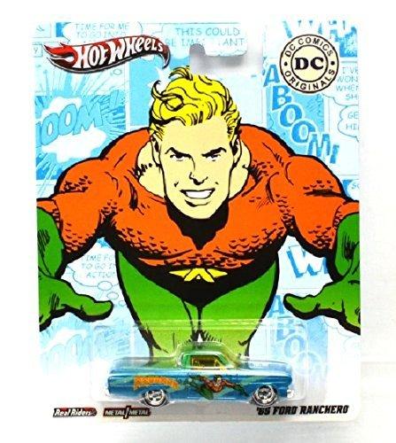 MATTEL HOTWHEELS pop culture DC COMICS AQUAMAN '65 FORD RANCHERO by Pop Culture