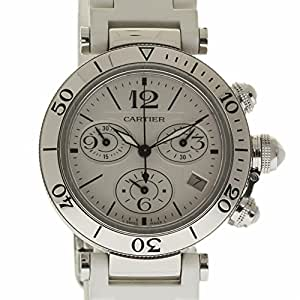 Cartier Pasha swiss-quartz mens Watch 3129 (Certified Pre-owned)