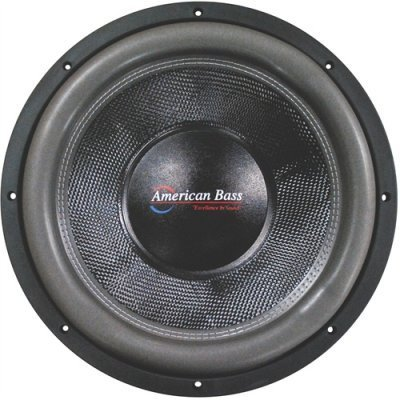 American Bass Hd12d2 Hd Series 12 Dual 2 Ohm Car Audio Subwoofer Sub [並行輸入品] B077JML3Z7