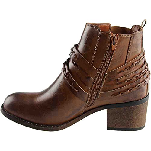 Corkys Wrap Womens Boot 8 B (m) Us Brown