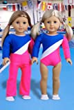 Olympic Gymnast – 3 piece outfit includes gymnastic leotard, warmup pants and white shoes – Clothes for 18 inch Dolls, Baby & Kids Zone