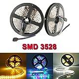 5M 300 LEDs SMD 3528 Flexible LED Strip Light Non-Waterproof DC 12V.