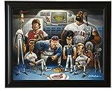 The Tribe. A Tribute to Major League Framed Giclée Print