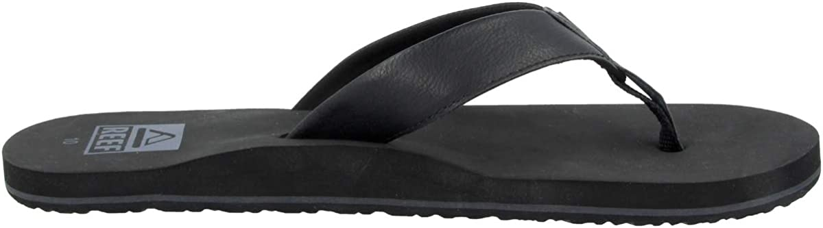 9 Black//Black Reef Mens TWINPIN Sandals