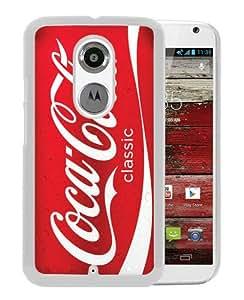Red Soda Style Coca Cola White Fantastic Unique Cusstomized Motorola Moto X 2nd Generation Case
