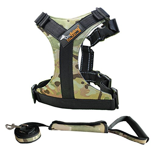 Ondoing Dog No Pull Harness Adjustable and Heavy Duty Sad...