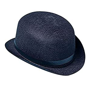 Black Derby Hat - Classic Derby Hat In Black