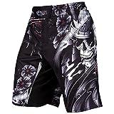 Venum Samurai Skull Fight Shorts - Black - Small