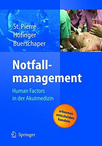 Notfallmanagement: Human Factors in der Akutmedizin
