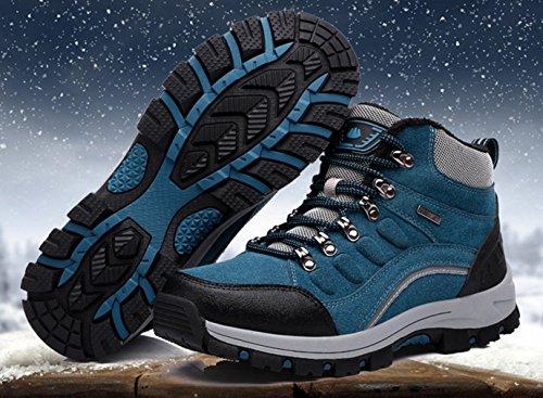 botas bleu bajo adulto caño lac Unisex XIGUAFR de TxdnO8PP