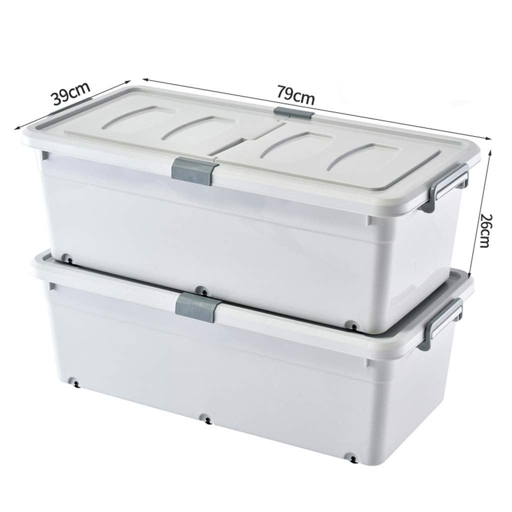 収納ボックスPP素材大容量サイドオープン家庭用服収納ボックス子供大型おもちゃ収納ボックス (色 : Gray) B07PQD6FBZ Gray