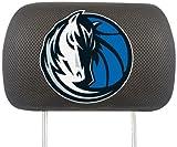 FANMATS NBA Dallas Mavericks Polyester Head Rest Cover