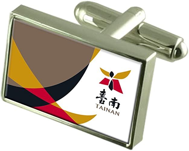 Taiwan Flag Cufflinks