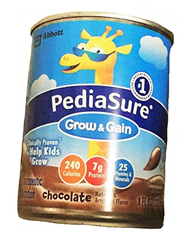 Pediasure Complete Balanced Nutrition Ready To Use (Chocolate) 8-Fl-Oz Can - 1 Case Of 24