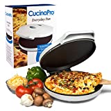 CucinaPro Pizza Maker and Everyday Baker - Electric Griddle Grill...