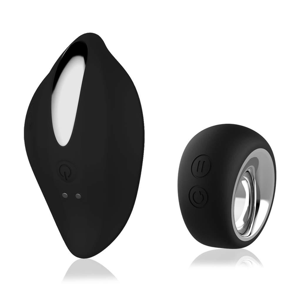 ZHONGJI Wearable Remote Control Ball Mini Vibrantor,G-Sport Vibrantors for Women,Rechargeable Waterproof,Black by ZHOGNJI