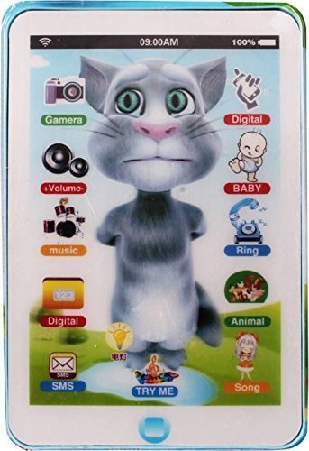 c85b2cb8f59ef Buy OneesStop Talking Tom Interactive Learning Tablet With Smart Touch  Online at Low Prices in India - Amazon.in