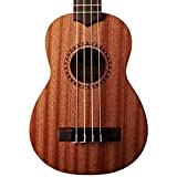 Official Kala Learn to Play Ukulele Soprano Starter Kit, Light Mahogany – Includes online lessons, tuner, and app, Light Mahogany Stain, Learn to Play Kit