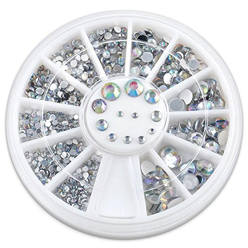 Chrome Gem Gem - Gracefulvara Various Rhinestones Nail Body Art Face Gems Festival Costume Craft