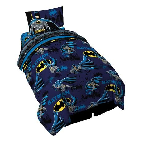 BATMAN, Protect Gotham, 4 piece bed in a bag Comforter Set Franco