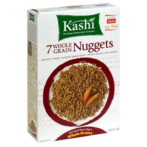 Kashi, Breakfast Cereal, 7 Whole Grain Nuggets, Vegan, Non-GMO Project Verified, 20 oz ()