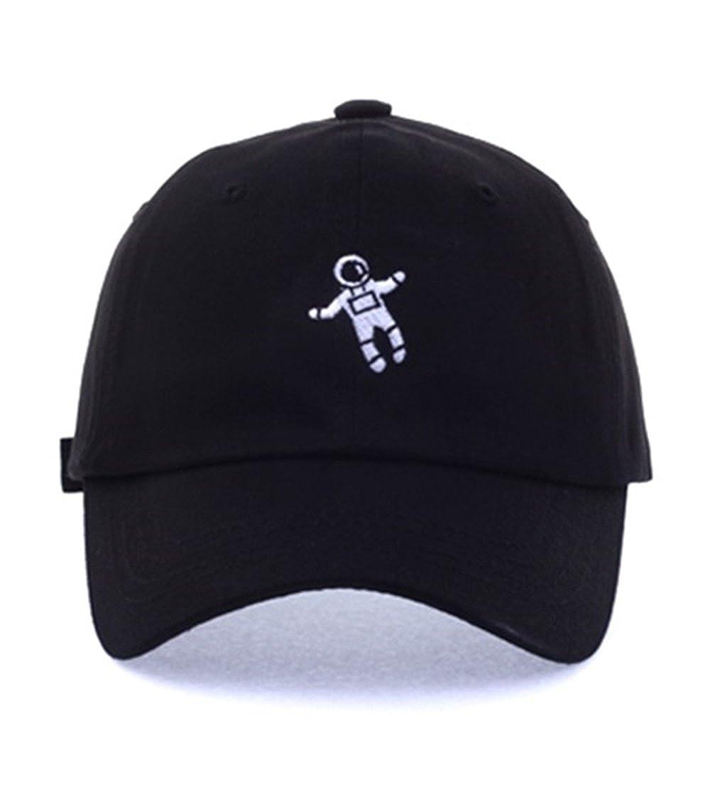 55eeb2f7ca89 Exo Style Xiu Astronaut Baseball Caps Hats Accessories Unisex Mens Womens  Kpop (Black) at Amazon Women's Clothing store: