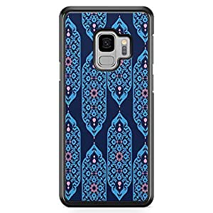 Loud Universe Arabic motif Pattern Samsung S9 Case Classical Arabic Style National Style Samsung S9 Cover with Transparent Edges