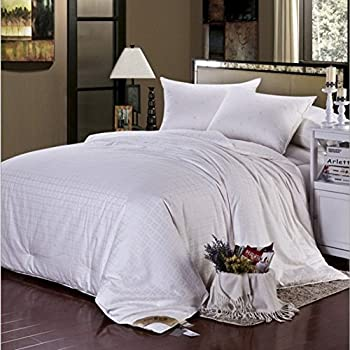 Soft Silker Silk Comforter 100% All Natural National Standard Long Mulberry Silk Duvet All Season King